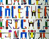 robot's font (old work)