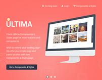 Ultima-Responsive HTML5 Landing Page