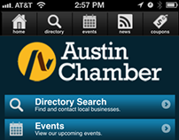 Mobile-enabled membership directory for Austin Chamber