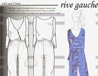 RIVE GAUCHE - NORDSTROM - HOLIDAY 2014