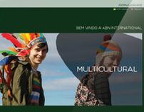 ABN International - identidade visual e aplicações