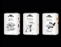 Rótulos, Embalagens de Cogumelos