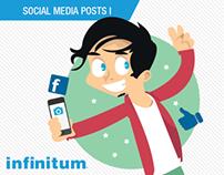 Infinitum Social Media Posts Pt. I