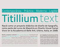 Especimen - Titillium