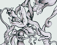 Octopus/Pink Floyd Tattoo