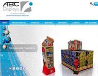 WEB SITE ABC DISPLAYS