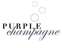 purple champagne ad