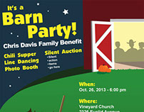 Barn Party Poster