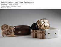 Belt Buckle - Lost Wax Technique