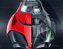 BMW Z5 Sketch Concept.