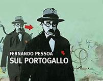 Sul Portogallo - Fernando Pessoa. Book cover design