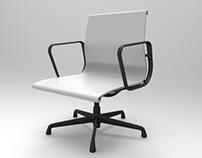 Plastic Aluminium Eames Chair