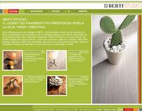 Berti Studio Website