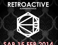 RETROACTIVE LIVE @ ANTIK CAFE