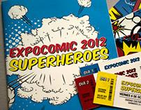 ExpoComic 2012 - Superheroes |  Organizacion de la info