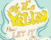 Bold Italic/ If it's Yellow Infographic