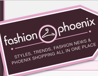Fashion Phoenix Identity/Website