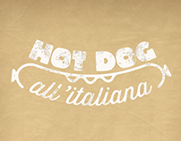 Hot dog all'italiana