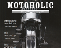 MOTOHOLIC / Magazine Design and Creation