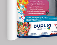 Magazine Ad for DUPLIO