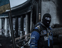 Occupy Kiev / Portraits