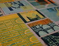 Xilografía - Grabado en Madera: Universo Arquitectónico