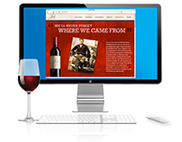 Josh Cellars Brand Website