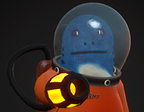 Game Character - Space Fish