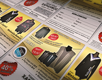 Classic Clothing Store Charidimos   Discount Flyer