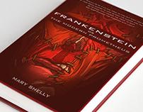 Classic Book Cover-Frankenstein