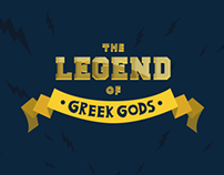 The legend of greek gods