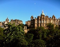 Summer in Edinburgh