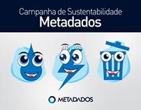 Empresa Metadados - Campanha Interna Sustentabilidade