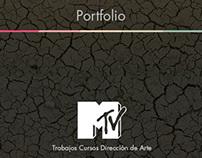 Trabajos Cursos Dirección de Arte MTV