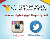 Instagram and twitter transit offers ads