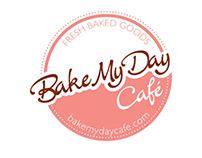 Brand Identity Design and Ad Campaign-Bake My Day Café
