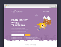 Tiny Carrier Landing page