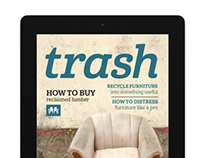 Trash Magazine for ipad