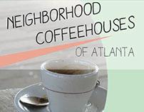 Neighborhood Coffee Houses Travel Brochure