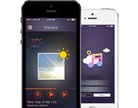 redesign Weather Radio app