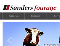Ontwerp website Sanders Fourage