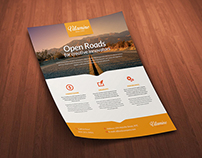 Multipurpose Business Corporate Flyer Template PSD