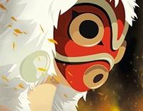 Princess Mononoke Film Poster
