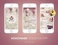 HOACHIASE iOS APP DESIGN