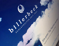 Billerbeck Blog Design