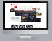 Krakatau Steel Indonesia (Corporate Website Design)