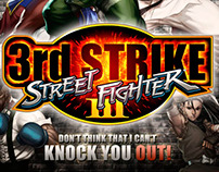 Ontwerp Poster Street Fighter III