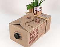 Pho Mau To Go Packaging