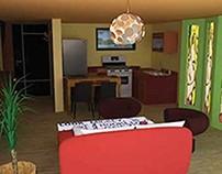 L'aménagement studio