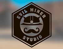 Logo for Evil Miner Studio